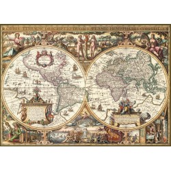 Mapamundi Antigüo – Efecto...