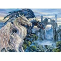 Dragón Blanco y Dragón Negro