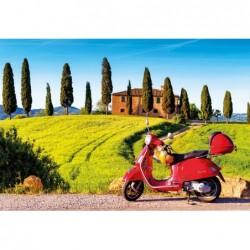 Moto En La Toscana
