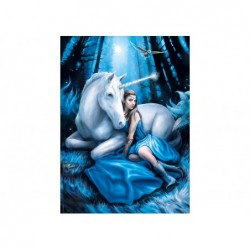 Anne Stokes: Luna Azul