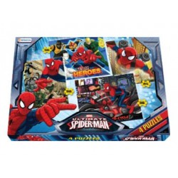 4 Puzzles: Spiderman