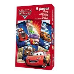 5 Juegos - 40 Naipes - Cars
