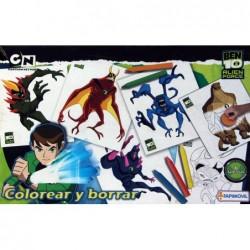 Colorea Y Borra - Ben 10