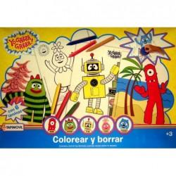 Colorear Y Borrar - Yo Gaba...