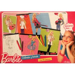 Colorear Y Borrar - Barbie