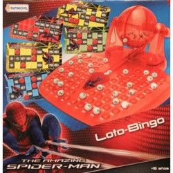 Loto-Bingo Spiderman