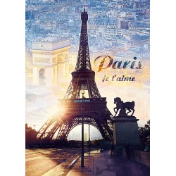1000pz. - París al Amanecer