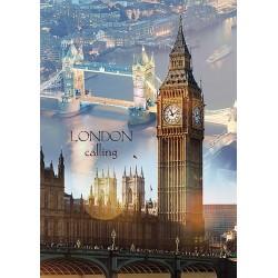 1000pz. - Londres al Amanecer