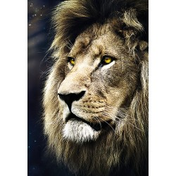 1500pz. - Retrato de un León