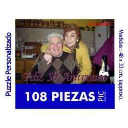 Puzzle Personalizado de 108...