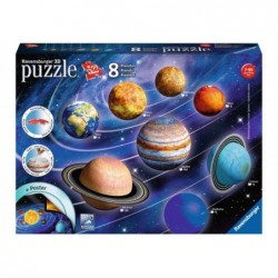 Puzzle 3D: El Sistema Solar