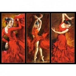 Carmesi, Bailarinas