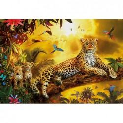 El Leopardo y sus Crías