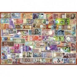1000pz. - Billetes del Mundo