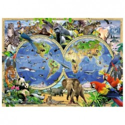Mapa de Animales Salvajes