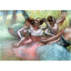 Degas: Cuatro Bailarinas en...