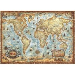 2000pz. - Mapa del Mundo...