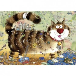 Marino Degano: Vida de Gatos