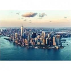 Vista de Nueva York, EE.UU.