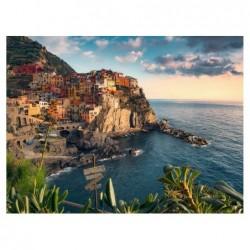 Vista de Cinque Terre, Italia