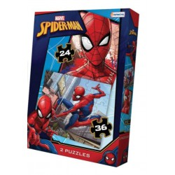 24 y 36pz. - Spiderman