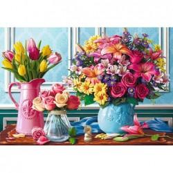1500pz. - Flores y Floreros