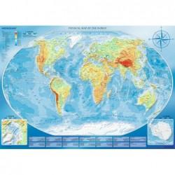 4000pz. - Gran Mapa Físico...