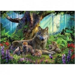 Lobos en el Bosque