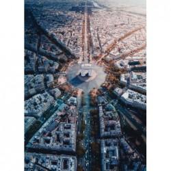 1000pz. - París desde Arriba