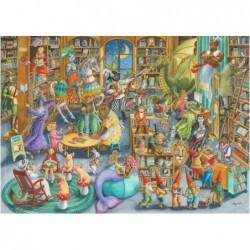 Medianoche en la Biblioteca
