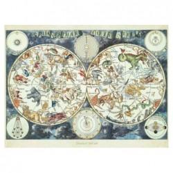 Mapa Celeste con Animales...