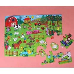 Puzzle De Piso - La Granja