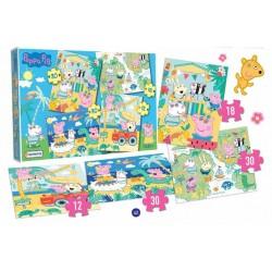 4 Puzzles: Peppa Pig