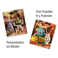 2 Puzzles Toy Story