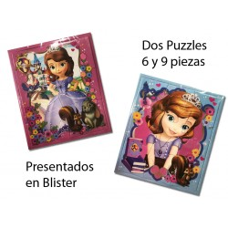2 Puzzles de Princesita Sofia