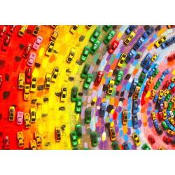 1000pz. - Colores con Ruedas