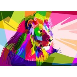 1000pz. - León Multicolor