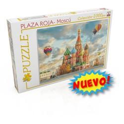 1000pz. - Plaza Roja, Moscú