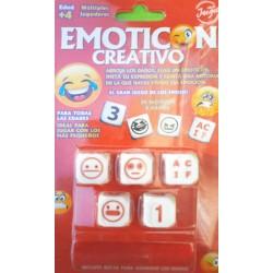 Dados Creativos: Emoticón...