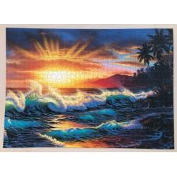 1000pz. - Atardecer Hawaiano