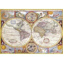 1000pz. - Mapamundi 1626