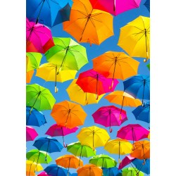 500pz. - Paraguas de Colores