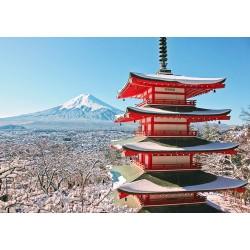 500pz. - Mirando al Fuji
