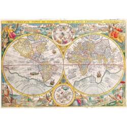 500pz. - Mapa del Mundo...