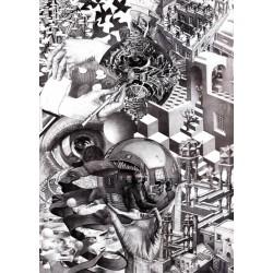 1000pz. - Collage de Escher