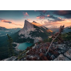 1000pz. - Las Montañas Rocosas