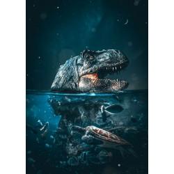 500pz. - Tiranosaurio Mágico