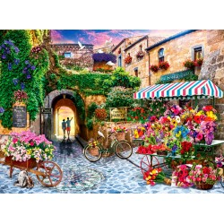 1000pz. - El Mercado de Flores