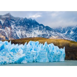 1000pz. - Vista del Glaciar...