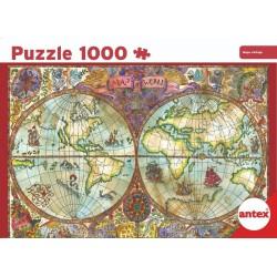 1000pz. - Mapa Vintage
